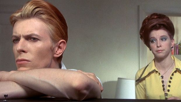 Planets apart: David Bowie and Candy Clark in The Man Who Fell To Earth