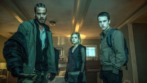 Forgive them their trespasses: Daniel Zovatto, Jane Levy and Dylan Minnette in Don't Breathe