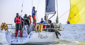 Liam Shanahan's Ruth from the National Yacht Club can make it a hat-trick of ISORA victories in Saturday's final race of the season from Pwllheli in North Wales to Dún Laoghaire