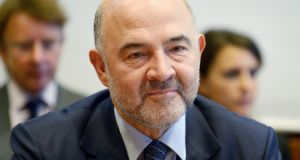 "EU's economics commissioner Pierre Moscovici: ""The message must be heard – no more tax evasion, no more tax fraud, no more tax avoidance, no more aggressive tax planning."" Photograph: Eric Piermont/AFP/Getty Images"