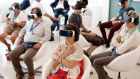 Virtual reality has given rise to an explosion in demand for content globally. Photograph:  Andreas Rentz/Getty Images