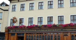 The Flying Enterprise pub in Cork where Cormac O Bruic claims he was sacked for speaking Irish.  Photograph: Google.