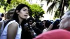 Rome's mayor Virginia Raggi. Italy's anti-corruption agency has said she did not followed correct bureaucratic procedures in choosing her chief of staff. Photograph: Massimo Percossi/EPA