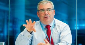 "AIB chief executive Bernard Byrne said the babk was  ""investing heavily"" in data analytics."