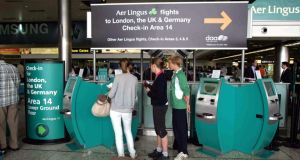 It takes about three minutes to check in luggage at the express bag drop installation at Dublin Airport, according to Aer Lingus chief operating officer Mike Rutter.