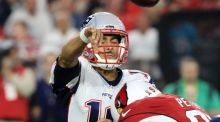 Jimmy Garoppolo guided New England Patriots to victory over the Arizona Cardinals. Photograph: Epa