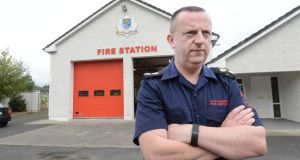 Michael Frain, chief fire officer and chair of the Roscommon Leader Partnership in Ballaghaderreen, Co Rocommon .Photograph: Brenda Fitzsimons / The Irish Times