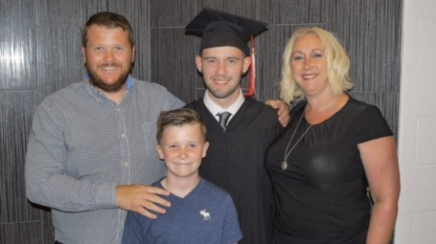 Darren and Viv Wade moved to Burlington in Ontario, Canada with their sons Jordan (18) and Lorcan (11) in 2015.