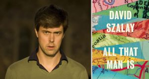Man Booker Prize 2016 shortlist:  David Szalay for  All That Man Is. Photograph: PA