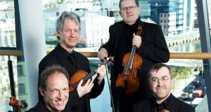 "The Vanbrugh Quartet: made a strong impression with Frederick May's Quartet as part of the ""Composing the Island"" festival"