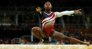 Russia-based cyber espionage group Tsar Team (APT28) accessed  personal records of Olympic athletes including USA gymnast Simone Biles. Photograph:  Lars Baron/Getty Images