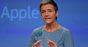 "Margrethe Vestager, the competition commissioner ""We have a robust decision and we will defend it in court."" Photograph: Reuters"