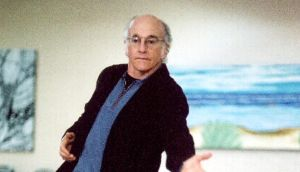 Larry David in 'Curb Your Enthusiasm': the 'cringe comedy' premiered in 2000