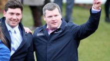 Gordon Elliott-trained Wrath Of Titans gave Lisa O'Neill her finest hour in the saddle when winning a dramatic race for the Guinness Kerry National Handicap Chase at Listowel. Photo: Inpho