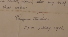 Previously unseen Eamonn Ceannt letter to go on display for Culture Night
