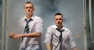 Another fine mess: Chris Walley and Alex Murphy in 'The Young Offenders'