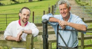 Tim Daly, Executive Chef at  Druids Glen Hotel & Golf Resort and Eamon Bourke of Kilmullen Farm