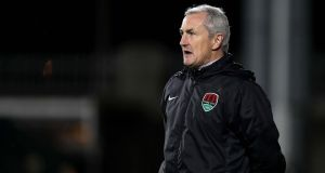 "Cork City manager  John Caulfield: ""We did very well, but I would expect a massive reaction from them and a totally different game."" Photograph: Morgan Treacy/Inpho."