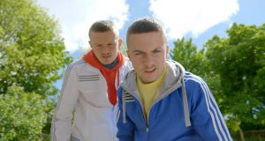 Going west: Chris Walley and Alex Murphy in The Young Offenders
