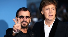 Come Together: Paul McCartney and Ringo Starr reunite