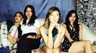 Warpaint: Jenny Lee Lindberg, Stella Mozgawa, Emily Kokal and Theresa Wayman. Photoghraph: Mia Kirby