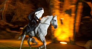 The Headless Horseman at the Spirits of Meath Halloween Festival. Photograph: Barry Cronin