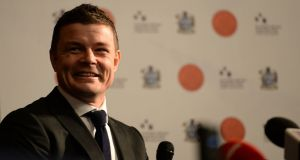 Brian O'Driscoll is a major shareholder in the firm with tech entrepreneur Ray Nolan. Photograph:  Dara Mac Dónaill