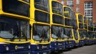 Dublin Bus strike: A further 48-hour work stoppage is scheduled to take place next Friday and Saturday, with another two-day strike planned for the following week.  Photograph: Brian Lawless/PA
