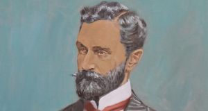 Detail from picture of Roger Casement by Mick O'Dea. Photograph: Nick Bradshaw