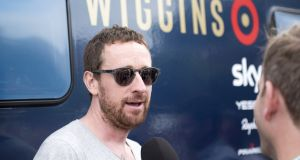 Bradley Wiggins of Team Wiggins, before stage three of the 2016 Tour of Britain from Congleton to Tatton Park, Knutsford on September 6th, 2016 in Knutsford, England. Photo: Nathan Stirk/Getty Images