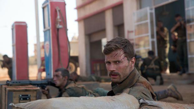 Strength of will: Jamie Dornan as Comdt Pat Quinlan in The Siege of Jadotville