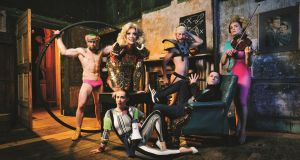Meticulously composed cabaret: RIOT, at the Spiegeltent until September 25th