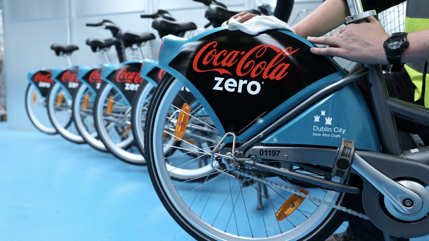 Takeaway firm just eat pays €2. 25m to sponsor dublin bikes.