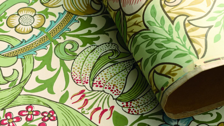 william morris wallpaper design formal analysis