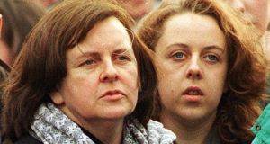 Bernadette McAliskey with her daughter Róisín McAliskey