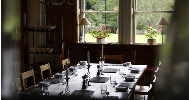 Marvelous The Communal Dining Room At The Tyrone Guthrie Centre In Annaghmakerrig, Co  Monaghan