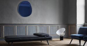 The Spine daybed designed by collective Space Copenhagen for Fredericia Furniture is a beautifully simple statement piece. Available to order from Lost Weekend, it comes in both fabric, from €4,026, and leather options. Pictured in midnight blue leather, from €4,612, it's a piece that will age beautifully.  lostweekend.ie; fredericia.com; spacecph.dk