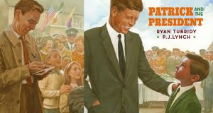 Patrick and the President, featuring a cameo by a young cub reporter who looks a lot like Ryan Tubridy