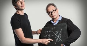 Brian Cox and Robin Ince present The Infinite Monkey Cage on BBC Radio 4. Photograph: Richard Ansett/BBC