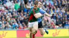 "Mayo's Donal Vaughan is tackled by Dublin's Brian Fenton in Sunday's draw: ""Nothing stings like turning up in an All-Ireland final and letting it pass you by."" Photograph: Morgan Treacy/Inpho"