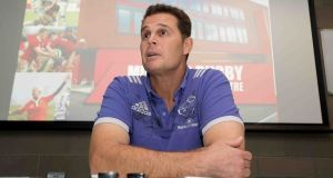 Munster director of rugby Rassie Erasmus: 'We've got a tough challenge.' Photograph: Morgan Treacy/Inpho