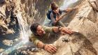 Cliffhangers: Michael Landes and Ophelia Lovibond in Sky One's Hooten & the Lady