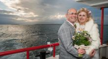 Our wedding story: Love on the Mayo sea