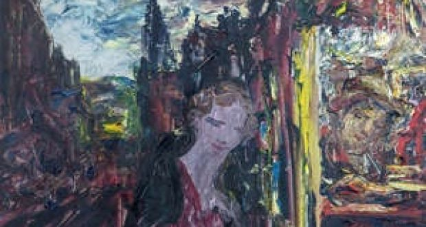 A Man Doing Accounts By Jack B Yeats For Auction At Adam S