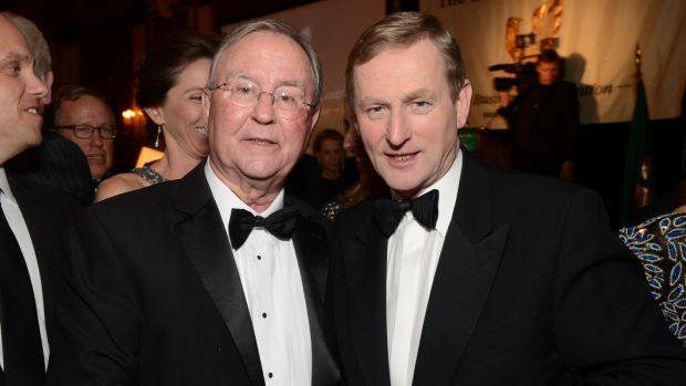 "Diarmuid Hogan with Enda Kenny: ""Trump will hire very good people"""