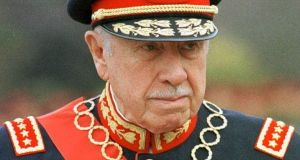 Former Chilean dictator Gen Augusto Pinochet pictured in 2008. His son used a Bahamian company, Meritor Investments Limited, to move $1.3 million to his father. File photograph: Santiago Llanquin/AP