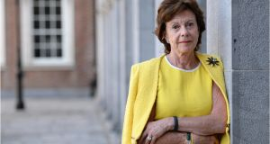 Neelie Kroes pictured  in Dublin Castle in 2013. File photograph: Dara Mac Dónaill/The Irish Times.