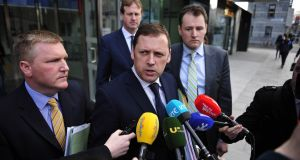 Fianna Fáil spokesman on water Barry Cowen. Fianna Fáil has estimated that giving householders who paid their water charges a tax credit would cost €50m. File photograph: Aidan Crawley