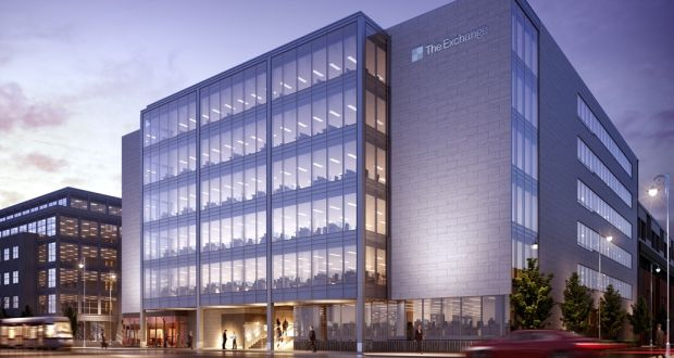 original office. Called The Exchange, The 105,000sq Ft Building Will Involve A \u20ac60 Million  Investment Original Office