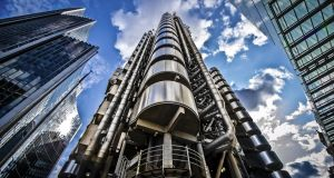 Lloyd's of London insurance market posted a 22 per cent rise in pre-tax profits to £1.46 billion (€1.7 billion) for the first half of the year. Photograph: iStock
